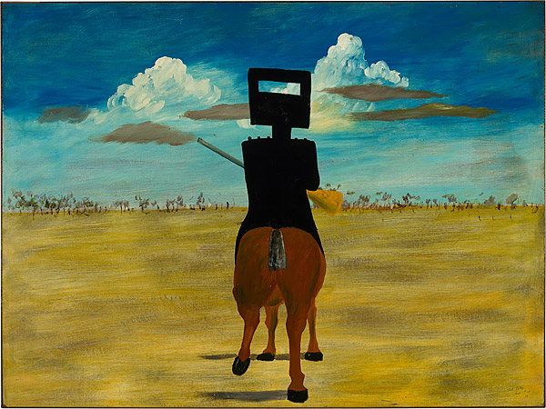 Ned Kelly, 1946 - Sidney Nolan