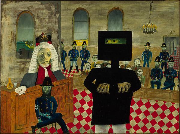 The Trial, 1947 - Sidney Nolan
