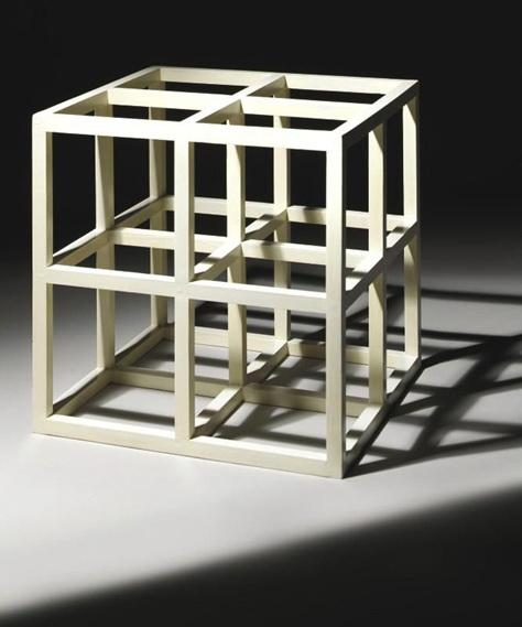 8 Part Cube, 1975 - Sol LeWitt