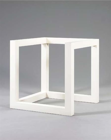 Incomplete Cube 10-4, 1975 - Sol LeWitt