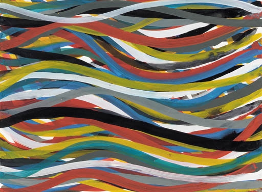 Untitled (Ribbons) - Sol LeWitt