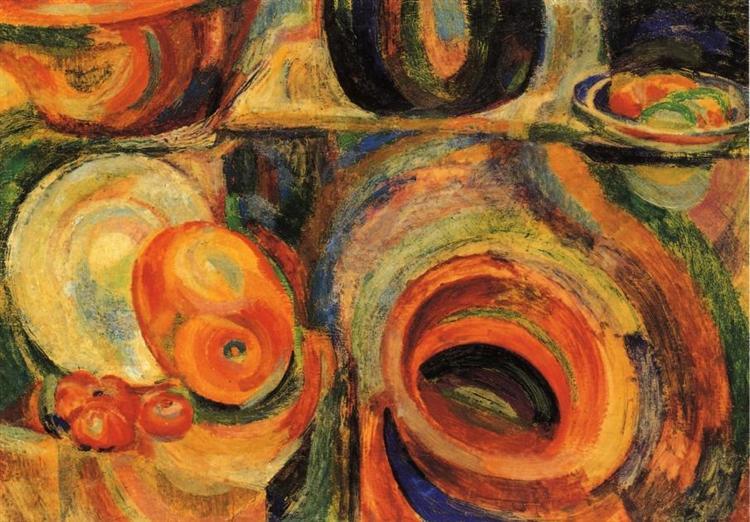 Portugese Still Life, 1916 - Sonia Delaunay