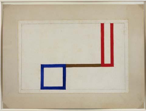 Projet pour l'Aubette, 1927 - Sophie Taeuber-Arp