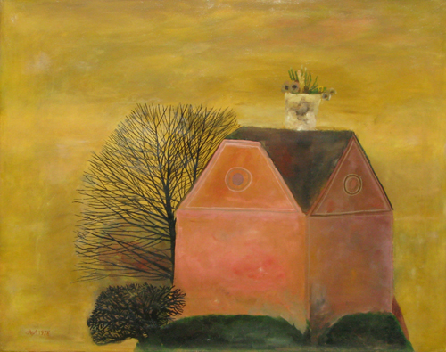 Nest With Flowers, 1978 - Stefan Caltia