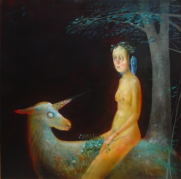 The Unicorn in the Forest, 2005 - Stefan Caltia