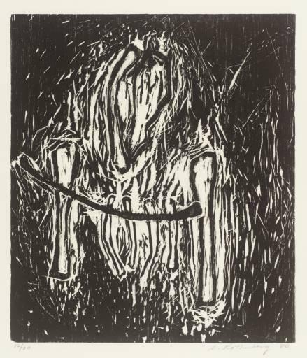 Head and Bones, 1980 - С'юзен Ротенберг