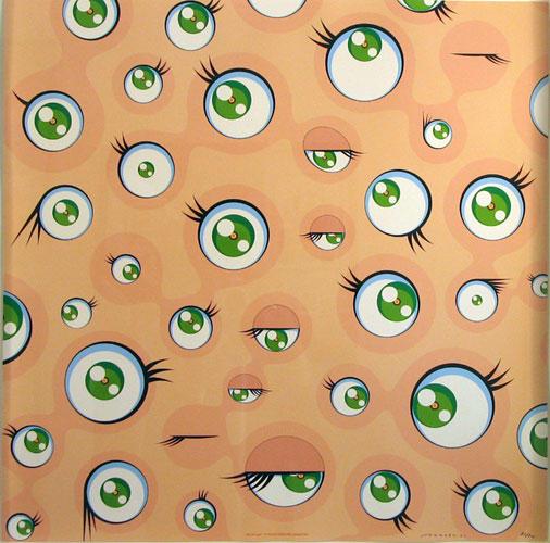 Jellyfish Eyes, 2001 - Такасі Муракамі