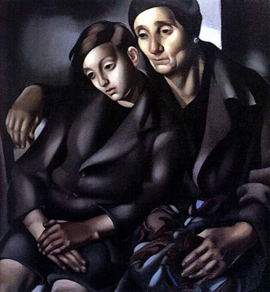 The Refugees, 1937 - Tamara de Lempicka