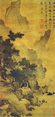 Watching the Spring and Listening to the Wind - Tang Yin