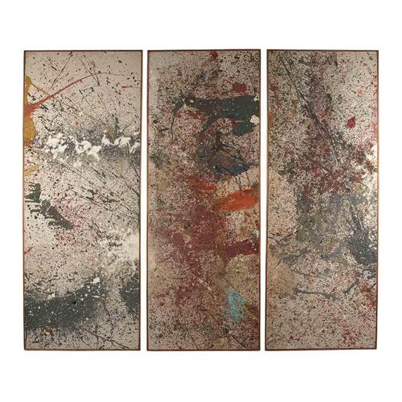Untitled (Triptych), 1961 - Taro Yamamoto