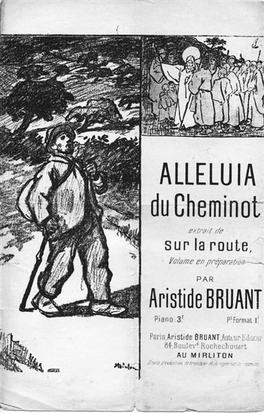 Alleluia de Cheminot, 1889 - Theophile Steinlen