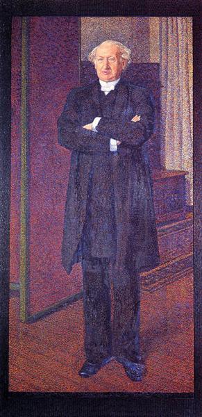 Portrait of Michel van Mos, 1892 - Theo van Rysselberghe