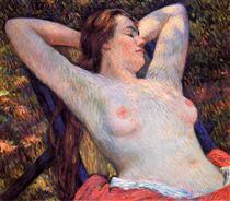 The Model's Siesta - Théo van Rysselberghe