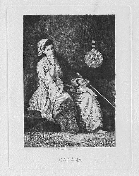 Odalisque, 1872 - Theodor Aman