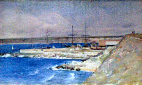 Port of Constantza, 1882 - Theodor Aman