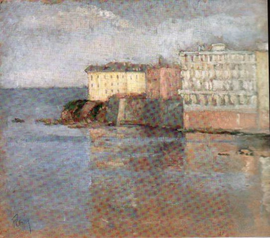 Landscape (Constantza) - Theodor Pallady