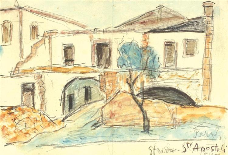 Strada Sfinții Apostoli, 1949 - Theodor Pallady