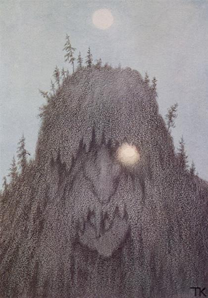 Forest Troll - Theodor Severin Kittelsen