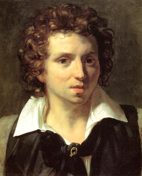 A Portrait Of A Young Man, c.1818 - Théodore Géricault