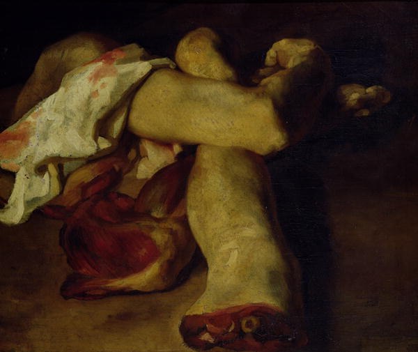 Anatomical Pieces - Gericault Theodore