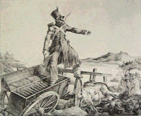 Artillerycaisson, 1818 - Théodore Géricault