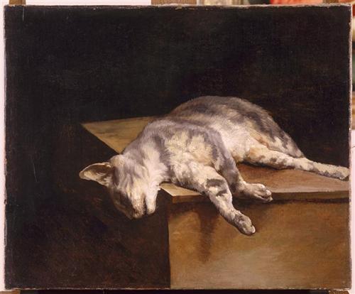 Dead Cat - Theodore Gericault