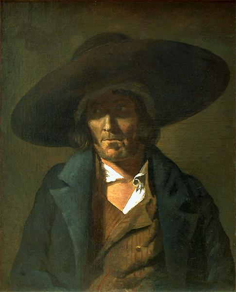 Portrait of a Man, The Vendean, 1822 - 1823 - Théodore Géricault