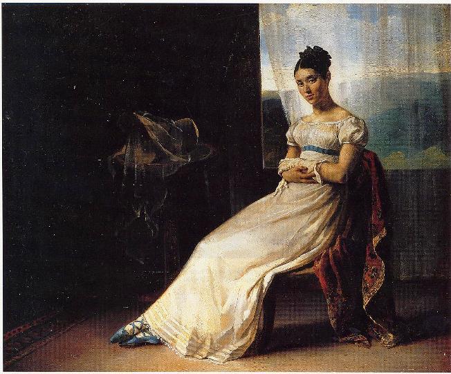 PortraitofLaureBro, 1818 - 1820 - Théodore Géricault