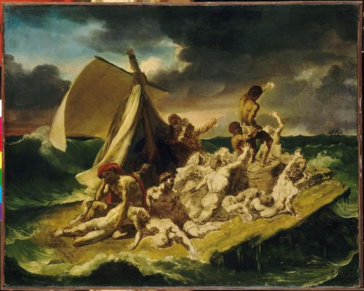 Study for The Raft of the Medusa - Théodore Géricault