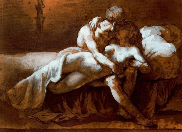 The Kiss, 1816 - Theodore Gericault