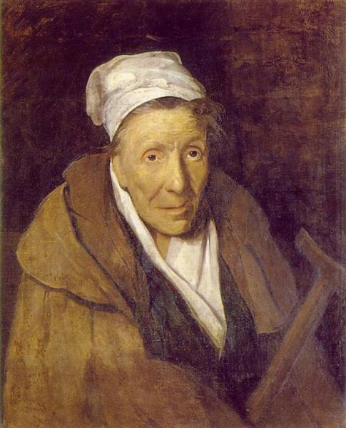 The Woman with Gambling Mania - Theodore Gericault