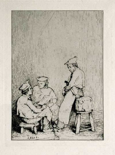 Culinary Scene #8: The Menu, 1870 - Theodule Ribot