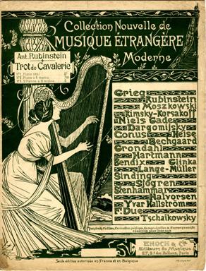 Collection Nouvelle de Musique Etrangere Moderne, 1899 - Theophile Steinlen