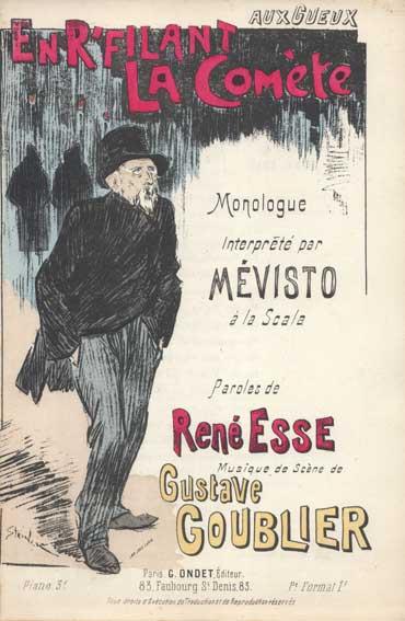 En R-filant La Comete, 1893 - Theophile Steinlen