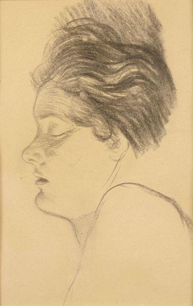 Femme Endormie - Theophile Steinlen