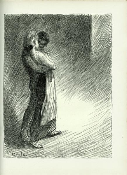 Idyll Faubourg - Theophile Steinlen