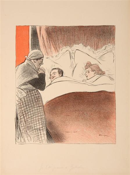 Je L'Ai Promis a Gertrude - Theophile Steinlen
