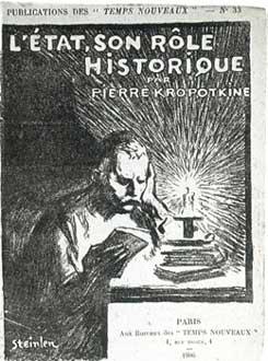 L'Etat - Son Role Historique par Pierre Kropotkine, 1906 - Theophile Steinlen