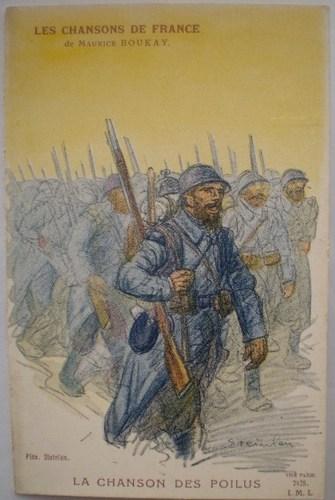 La Chanson Des Poilus, 1916 - Theophile Steinlen
