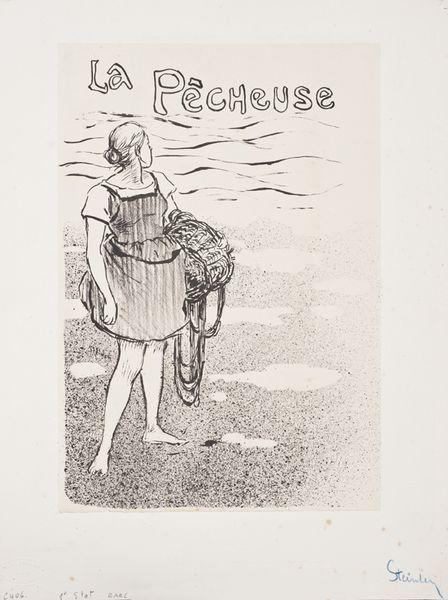 La Pecheuse, 1892 - Theophile Steinlen