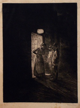 Le Bouge - Theophile Steinlen
