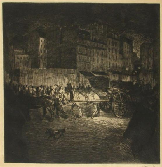 Le Tombereau, 1902 - Теофіль Стейнлен