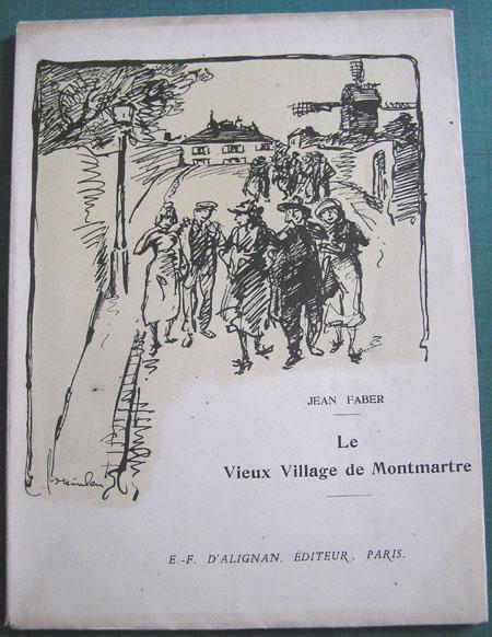Le Vieux Village de Montmartre, 1920 - Theophile Steinlen