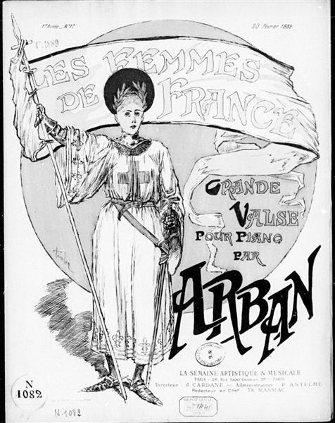 Les Femmes de France, 1889 - Theophile Steinlen