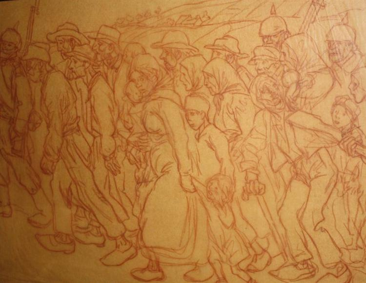 Les-Otages-Civil - Theophile Steinlen
