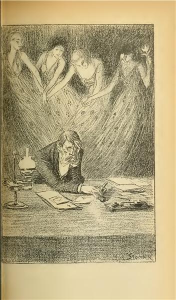 Les Quatre Dames - Theophile Steinlen