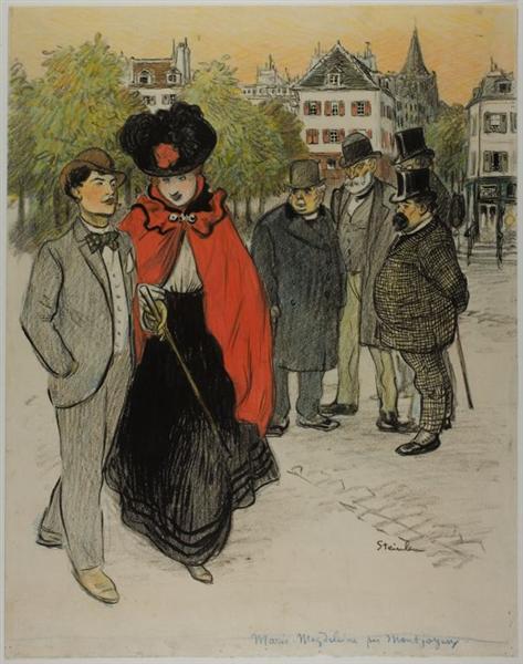 Marie-Magdeleine - Theophile Steinlen