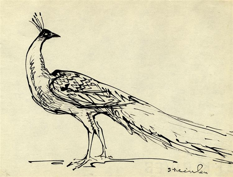 Peacock - Theophile Steinlen