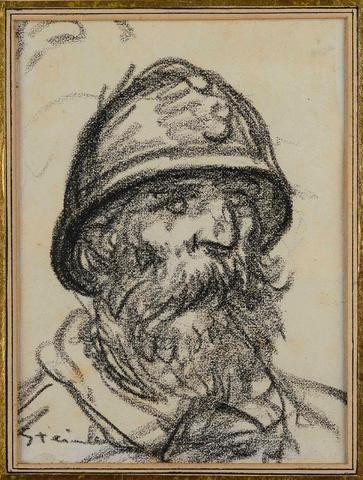 Portrait de Poilu - Theophile Steinlen