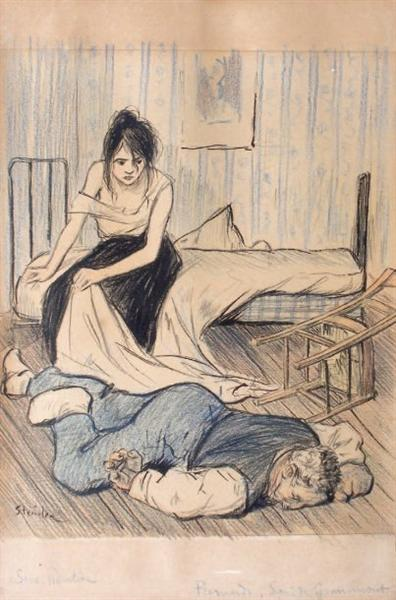 Remords - Theophile Steinlen